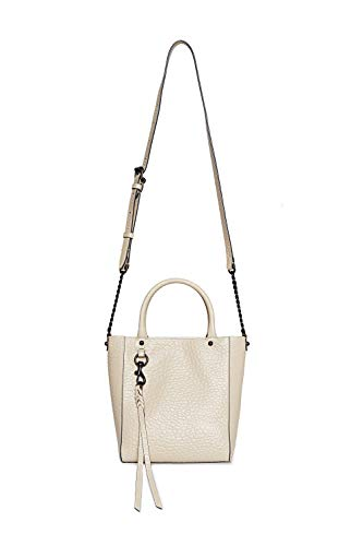 Rebecca Minkoff Women's Chain Tote Crossbody, White