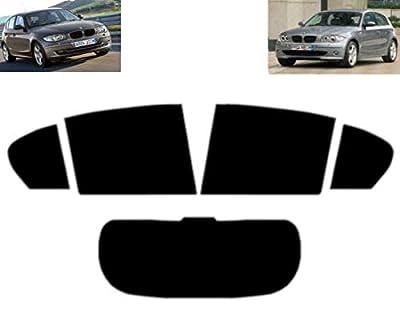 Film Solaire Prédécoupé Teinté pour-BMW 1 série E87 5-Portes 2004-2011 Vitres Arrière & Lunette