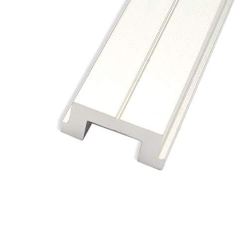POWERTEC 71146 Aluminum Miter T-Bar, 48-Inch, aluminum grey