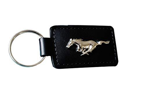 Mustang Leder-Schlüsselanhänger