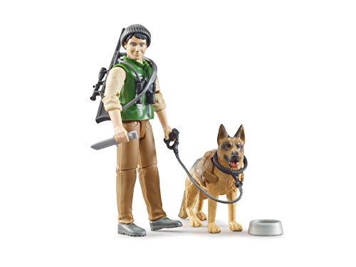 Bruder 62660 - Bworld Förster mit Hund und Ausrüstung