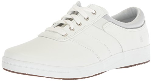 Grasshoppers womens Stretch Plus Lace Ii Sneaker, White, 8.5 US