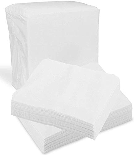 Disposable Dry Wipes, 100 Pack