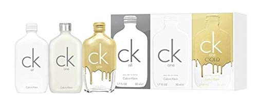 Calvin Klein Un set de regalo unisex de 50 ml, 3 unidades