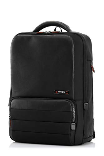 Samsonite SBL Veron Ii 18.5 Ltrs Black Laptop Backpack (SAM VERON II Slim BP Black)