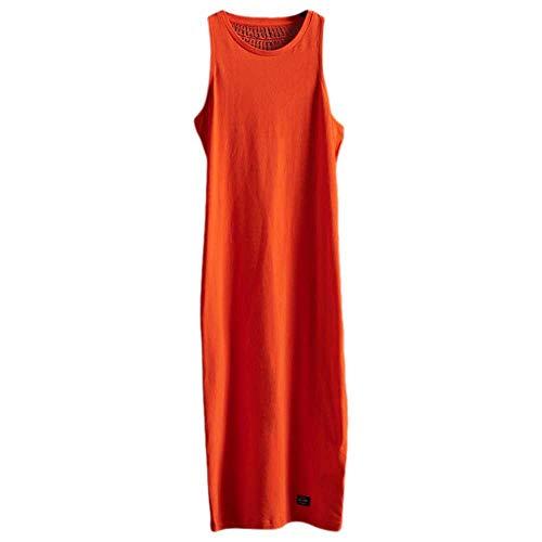 Superdry Lily Crochet Insert Dress Vestido, Naranja (Fiery Orange V5v), XXS para Mujer