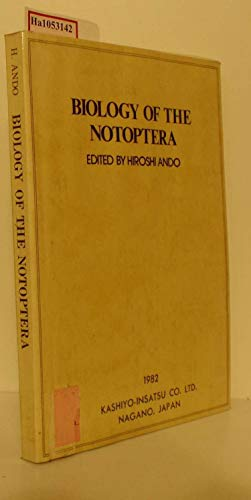 Biology of the Notoptera,