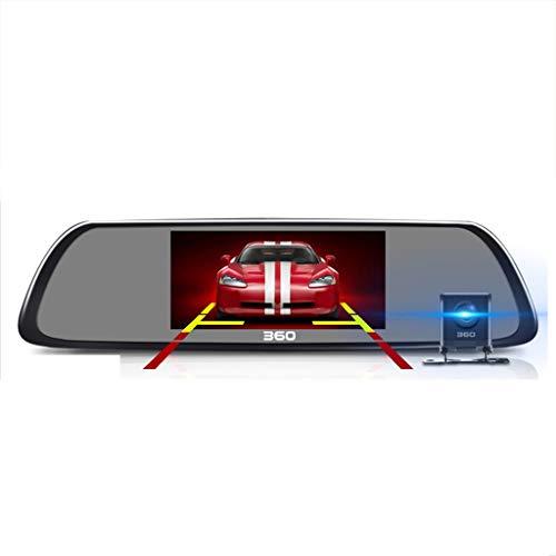 L-FSZE HD 1080P-Auto-Nachtsichtgerät mit doppelter Linse, 4,3-Zoll-LCD-Bildschirm, G-Sensor, Parküberwachung, Schleifenaufnahme und dynamischer Erkennung (Size : D)