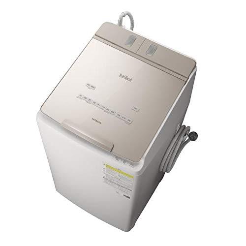 日立 9.0kg 洗濯乾燥機 ビートウォッシュ シャンパン BW-DX90F N
