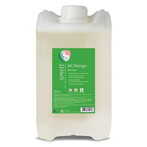 WC-Reiniger Minze-Myrthe: Entfernt gründlich Schmutz, Urinstein, Kalkablagerungen