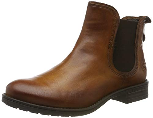 bugatti Damen 4115693D4100 Kurzschaft Stiefel Stiefeletten, Braun (Cognac 6300), 37 EU