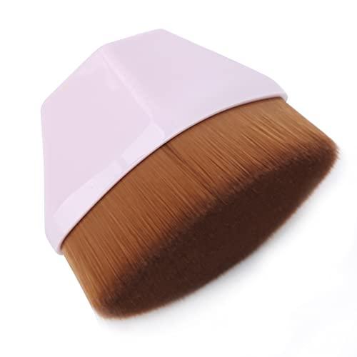 Brocha impecable, brocha de base para maquillaje líquido Fácil de limpiar Maquillaje...