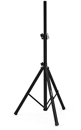 Audibax | Neo 131 | Soporte para Altavoz Profesional | Trípode de Aluminio | Máximo 30 Kg. | Material Resistente | Base superior 24 x 24 cm | Altura Regulable 1200|1800mm | Color Negro