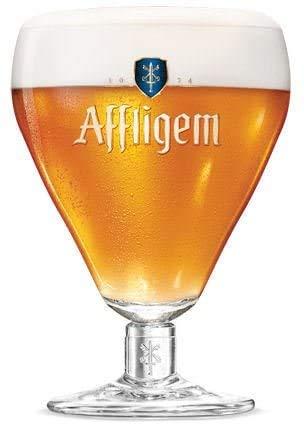 Affligem - Calice da birra belga Ale calice calice, misura grande, 50 cl