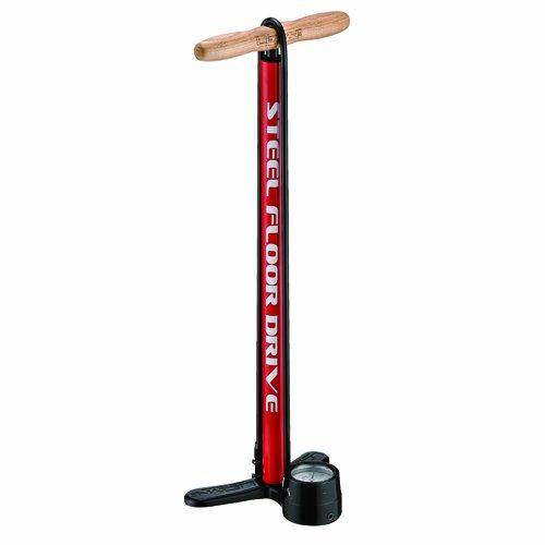 LEZYNE Steel Floor Drive Pump (Red)