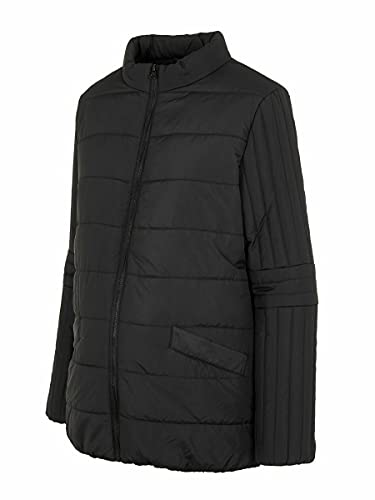 MAMALICIOUS Damen MLQUEENIE Zippy Side 2 IN 1 Jacket Jacke, Black, XL