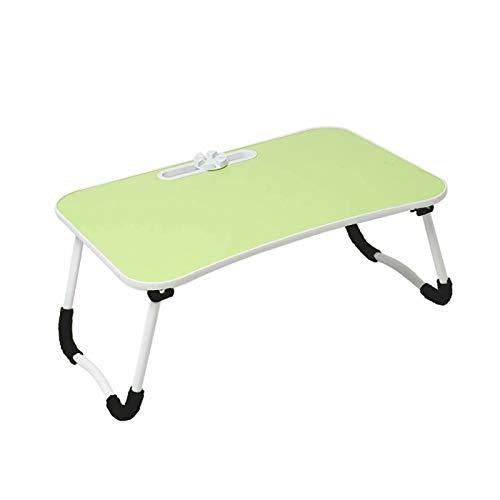 CHENSQ Tavolino da Letto per Laptop, Supporto da scrivania Pieghevole per Laptop, può gustare la Colazione, Leggere, Lavorare, Guardare Film sul Letto/Divano/Pavimento