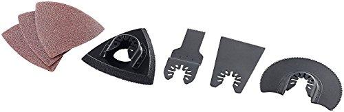 AGT Zubehör zu Multitool Zubehör Set: Zubehör-Set für Multifunktionswerkzeug AW-18.osz, 7-teilig (Multitool Sägeblatt)
