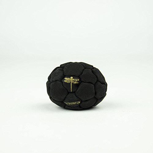 Dragonfly Footbags Midnight 32 Panel Sand Filled (Hacky Sack)