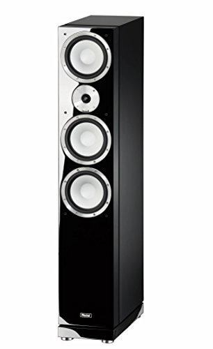 Magnat 147170 Quantum 757 I 3 Wege-Standlautsprecher mit hochwertigem HiFi-Sound I Elegante Lautsprecherbox mit Doppelbass – Schwarz piano/seidenmatt