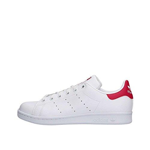 Adidas Stan Smith, Sneaker, Blanco (Footwear White/Bold Pink Weiß), 36 EU