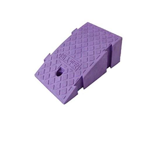 Park-Eingang Rampen, Familien-Auto-Rampen Fahrzeug tragbarer Kunststoff Rampen Elektro-Rollstühle Rampen/for Roller Up und Downhill Pet Rampen (Color : Purple, Size : 25 * 45 * 19cm)