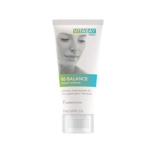 Vitabay Re-Balance 50 ml • Crème visage anti-stress • Équilibre de la microflore pour les peaux sensibles et irritées