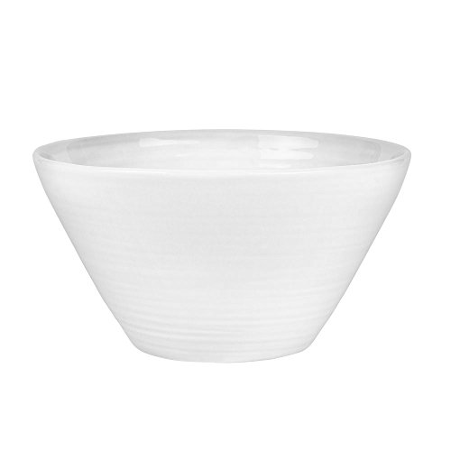 TABLE PASSION - SALADIER CONIC 27 CM BLANC