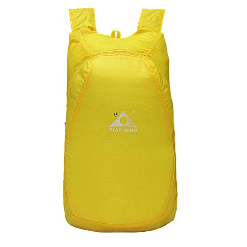 N / A JDSWL Backpack Outdoor Ultralight Travel Backpack Portable Folding Backpack Waterproof Storage Bag Mountaineering Leisure Sports Backpack