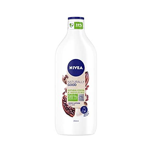 Nivea Body Naturally Good Bio Kakaobutter 350ml 