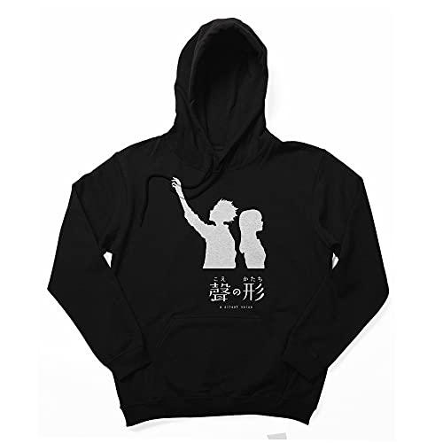 A Silent Voice Merch Koe No Katachi Tshirt Long Sleeve Crewneck Sweatshirt Hoodie Sweatshirt Merch Merchadise Clothes Apparel for Kids Men Women