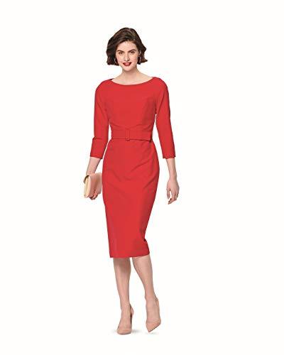 Burda 6165 Schnittmuster Kleid (Damen, Gr. 34-44) Level 3 mittel