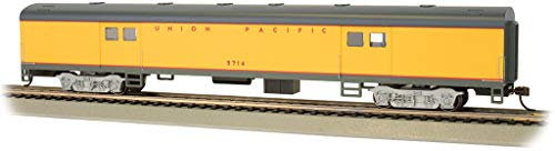 Bachmann Trains - 72' Smooth-Side Baggage Car - Union Pacific #5714 - HO Scale