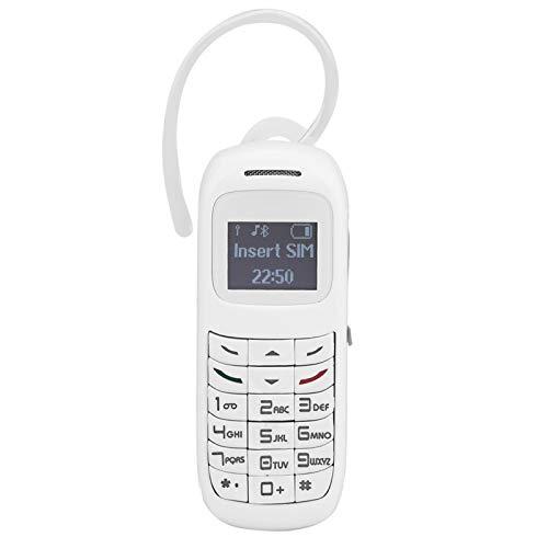 Surebuy Teléfono móvil de Alta Capacidad de Las Auriculares del Marcador del teléfono móvil, para la comunicación(White)