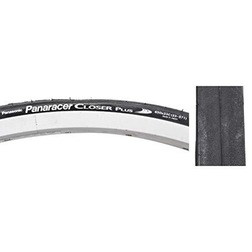 Panaracer Closer Plus Folding Bead Tire, 650 x 23C, Black