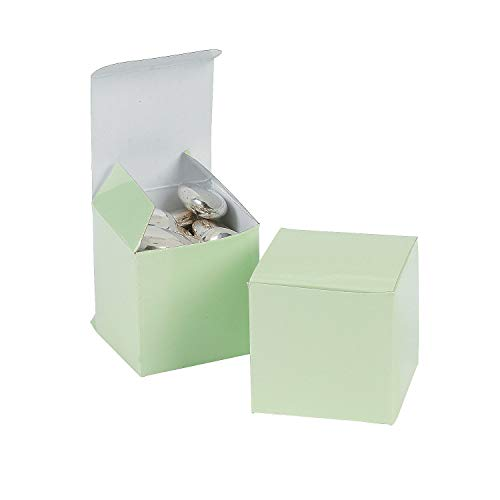 Mini Sage Green Favor Boxes