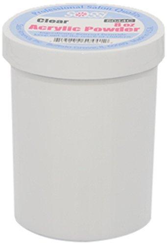 Sassi Acrylic Powder Professional Salon Quality 8oz Clear
