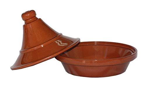 Breda - Plato para Tajín de terracota, diámetro 27 cm, altura 22 cm