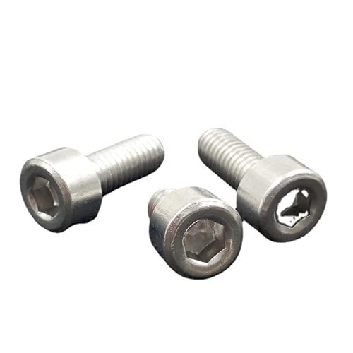 50 unids/lote M2/M3/M4/M5 aleación de aluminio tornillo taza cabeza cabeza zócalo cabeza cabeza cabeza cabeza cabeza cabeza cabeza cabeza cabeza cabeza tornillos (M4* 35mm)