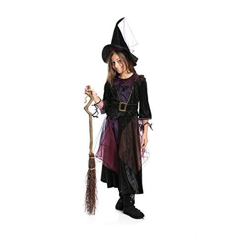 Kostümplanet® Hexenkostüm für Mädchen 140