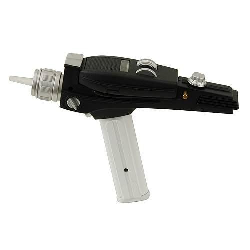 Star Trek TOS Replik 1/1 White Handle Phaser EE Exclusive