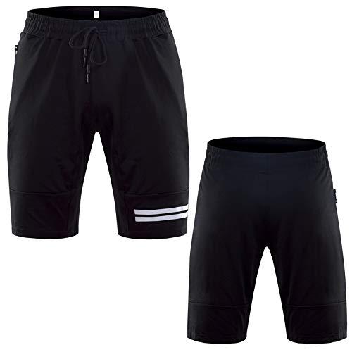 XIEPEI Nouveau Shorts Respirant Shorts à Séchage Rapide Shorts Gym Training Casual Pantalon de Course