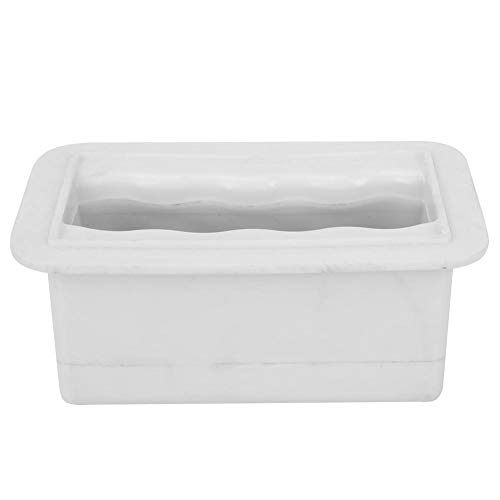 Tarente White12 * 7 * 5.5cm Plastikquadrat-Paddle Board SUP Griff Surfbrett Zubehör Ständer