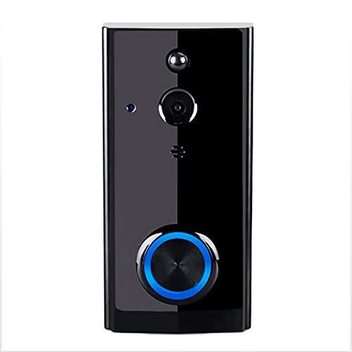 LXT-KL Ring Video Timbre, 2.4G WiFi/4G/3G, timbre de video que reemplaza tu mirilla con video 720P y conversación bidireccional. detección de movimiento avanzada