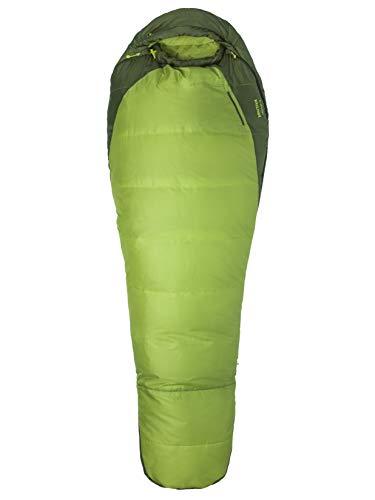Marmot Trestles 30 Mumienschlafsack, Leichter Und Warmer 3 Jahreszeiten Schlafsack, Green Lichen/Greenland, 183 cm