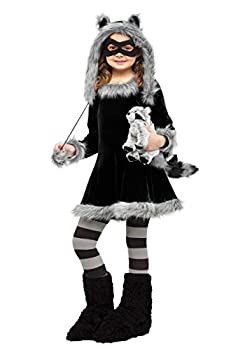 girl raccoon costume