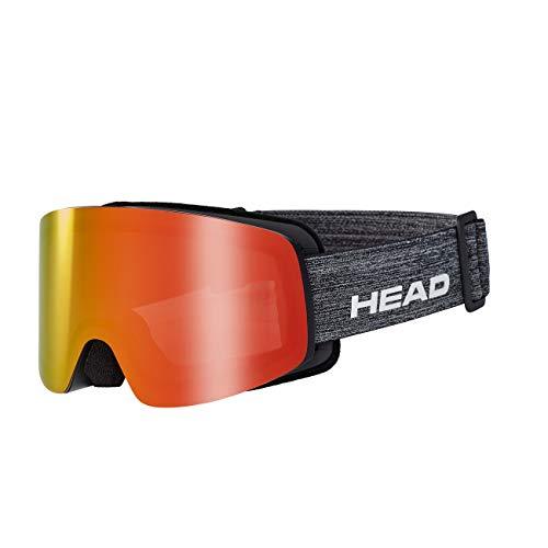 HEAD Unisex– Erwachsene Infinity Skibrille, FMR gelb/rot, Einheitsgröße