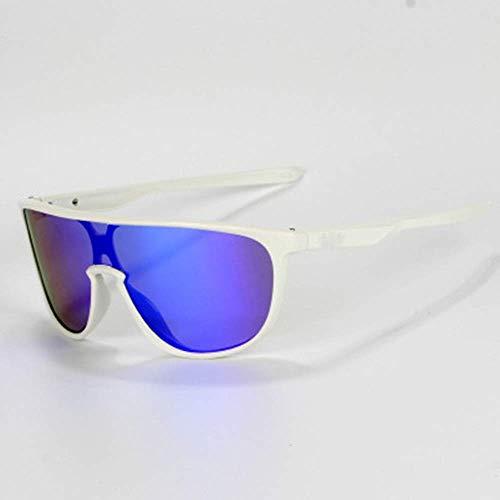 XUSHEN-HU Gafas de sol deportivas, gafas de ciclismo, deportes al aire libre, lentes de sol para hombres y mujeres, ciclismo, escalada, ciclismo, correr, conducción (color: negro, tamaño: talla única)