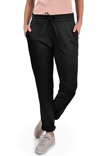 DESIRES Heaven Damen Jerseypants Sweatpants Jogginghose Mit Taschen, Größe:XS, Farbe:Black (9000)