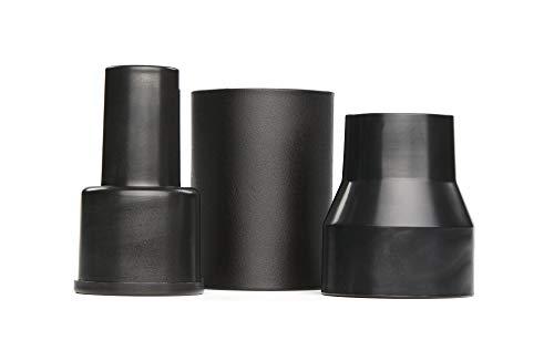 CRAFTSMAN CMXZVBE38673 3Piece Wet/Dry Vacuum Adapter Connector Kit,Black